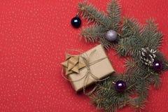 Babioles et décorations de Noël Images stock