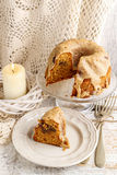 Babka - traditional easter yeast cake, popular in Eastern Europe Royalty Free Stock Images