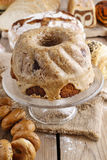 Babka - traditional easter yeast cake, Royalty Free Stock Photos