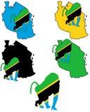 Baboon Tanzania Stock Image
