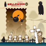 BabPin-Halloween Lizenzfreie Stockfotos