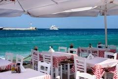Babulas Taverna, Mykonos, Greece Stock Photography