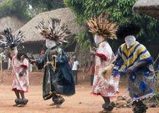 Babungokoninkrijk in Kameroen Royalty-vrije Stock Foto's