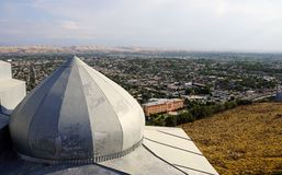 Babur`s house in Osh, Kyrgyzstan royalty free stock photography