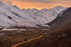Babusar Pass before winter season,Pakistan Stock Photo