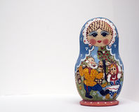 Babushka. Traditional russian wooden toy - babushka Stock Photography
