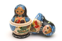 Babushka Doll. Isolation Royalty Free Stock Photos