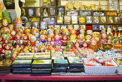 Babushka dolls Royalty Free Stock Photography