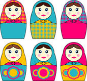 Babushka Dolls Royalty Free Stock Photo