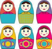 Babushka Dolls Royalty Free Stock Photo