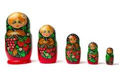 Babushka Matreshka Obraz Stock