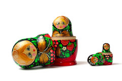 Babushka Matreshka Royalty Free Stock Photos