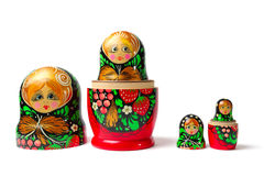 Babushka Matreshka Stock Photography