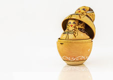 Babushka ruso de la muñeca Imagen de archivo