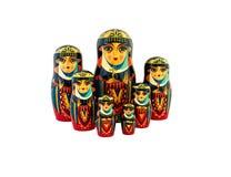 Babushka traditional Russian dolls Royalty Free Stock Image