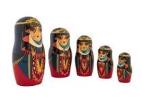 Babushka traditional Russian dolls Royalty Free Stock Photo