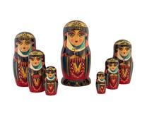 Babushka traditional Russian dolls Royalty Free Stock Photography