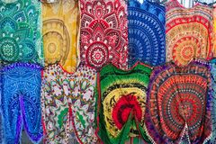 Babushka traditionnel Arabe, turc, oriental coloré lumineux image libre de droits