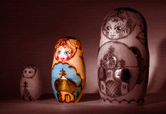 Babushka trio Royalty Free Stock Photo