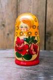 Babushkas or matryoshkas dolls. Stock Photos