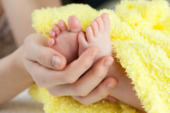 Baby's feet Royalty Free Stock Photos