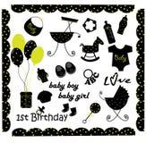 Baby 12 stock illustratie