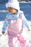 Baby 2 van de sneeuw Stock Foto