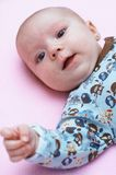 Baby. Colorful portrait of happy baby Stock Photos