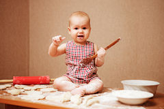 Baby. Royalty Free Stock Photography