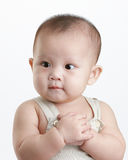 Baby. Little baby no fear, proud and strong Stock Photography