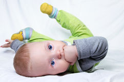 Baby 6-months old Royalty Free Stock Photography