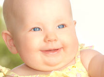 BABY. Cute little baby Royalty Free Stock Photography