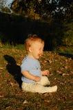 Baby in aard Royalty-vrije Stock Afbeeldingen