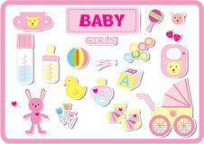 Baby accesseries Stockfotos