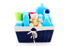 Baby accessories Royalty Free Stock Photo