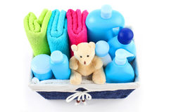 Baby accessories Royalty Free Stock Photography