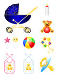 Baby Accessories Royalty Free Stock Image