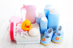 Baby accessories Stock Photos