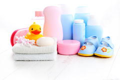 Baby accessories Stock Photography