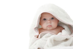 Baby After Bath. Stock Photos