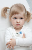 Baby is ailing Royalty Free Stock Photo