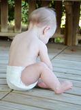 Baby Alone Stock Images