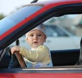 Baby&car Fotografia Stock