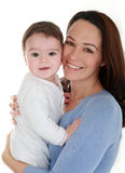 Baby & mum Stock Afbeelding
