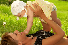 Free BABY AND MOTHER Stock Photos - 1279123