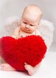 Baby angel stock photography