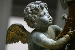 Baby Angel. A statue of a baby angel Royalty Free Stock Photo