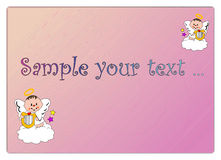 Baby angel Royalty Free Stock Images