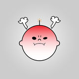 Baby angry icon. Vector design vector illustration