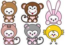Baby animals,  Royalty Free Stock Photos